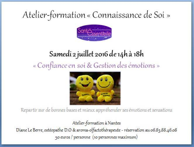 Confiance en soi et Gestion des émotions - 2 juillet 2016 - contour