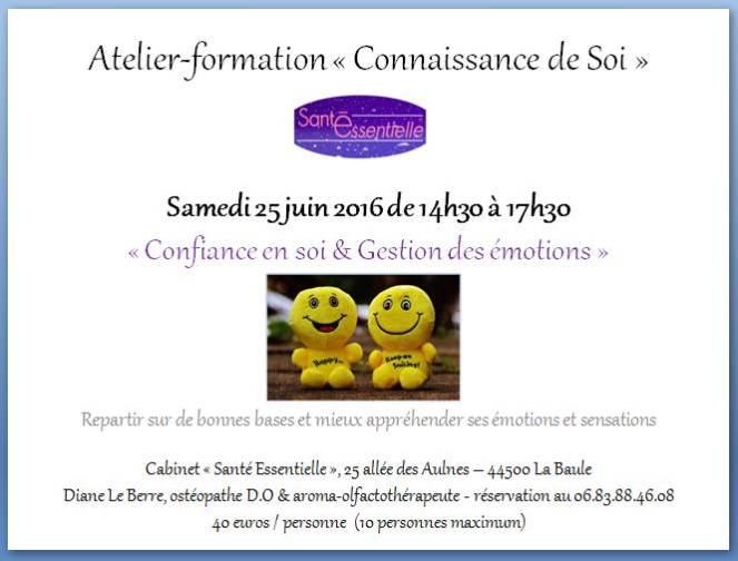 Confiance en soi et Gestion des émotions - 25 juin 2016 - contour