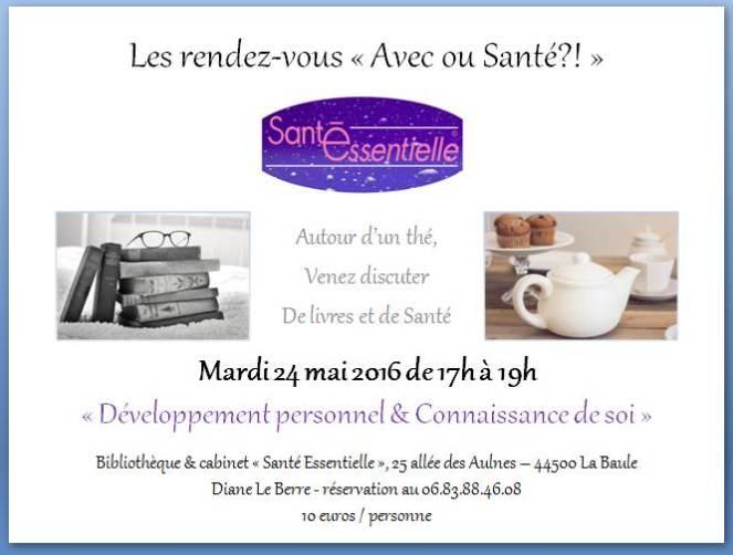 Les rendez-vous - Avec ou Santé - 24 mai 2016 - contour