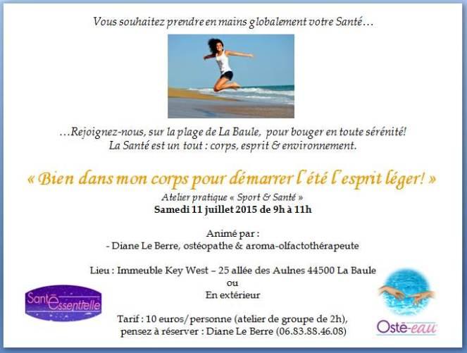 Santé Essentielle - 1er atelier Sport et Santé - contour