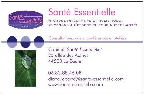 Santé Essentielle - cdv recto -nouvelle