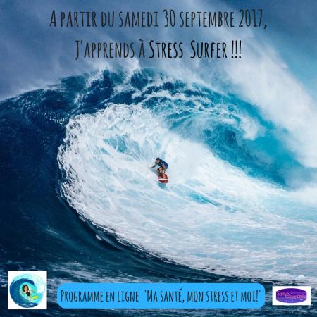 A partir du samedi 30 septembre 2017, J'apprends à Stress Surfer !