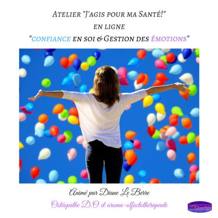 Atelier J'agis pour ma Santé - Confiance en soi et Gestion des émotions